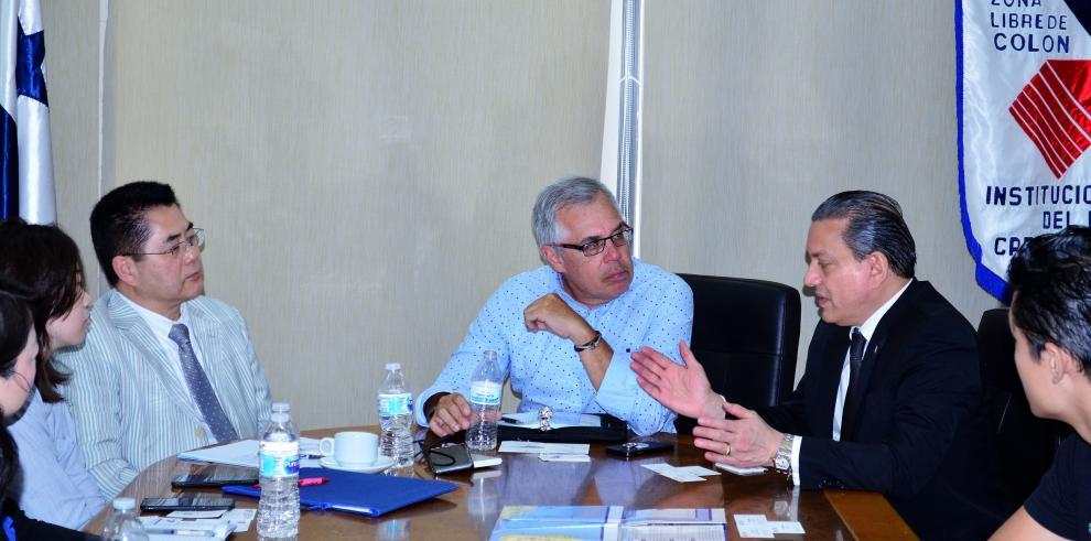 Banco de Desarrollo de China realiza visita de cortesía a la ZLC