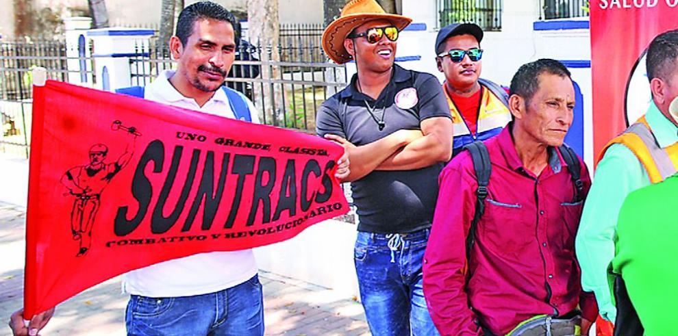 Suntracs anuncia la fecha para la huelga general, 18 de abril