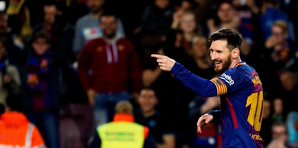 Un triplete de Messi condena al Leganés en el Camp Nou