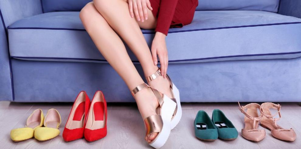 Los zapatos con plataforma ganan protagonismo