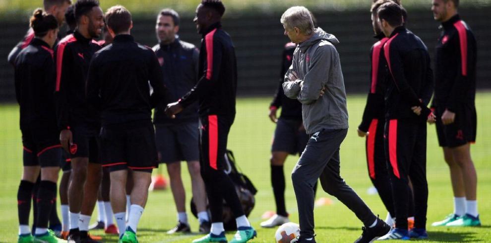 Arsenal y Atlético, partido de alaridos