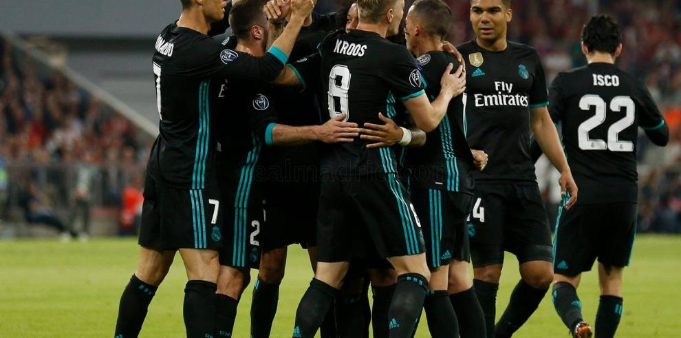 El Real Madrid vuelve al trabajo tras vencer alBayern
