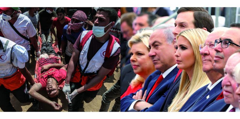 EE.UU. inaugura embajada en Jerusalén en medio de jornada de sangre en Gaza