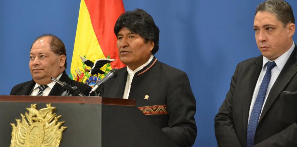 Evo Morales expresa pesar por la muerte del excanciller argentino Timerman