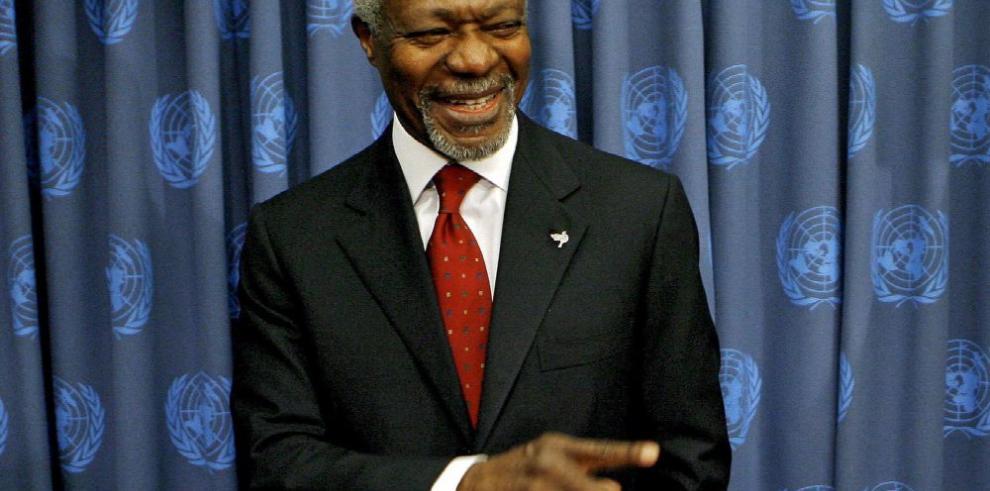El mundo rinde tributo a Kofi Annan por su 'inspiradora' labor por la paz