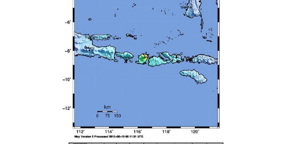 Un nuevo terremoto de magnitud 6,3 sacude a Lombok
