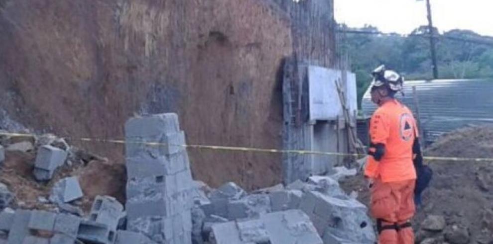 Una víctima fatal, tras colapso de muro en Arraiján