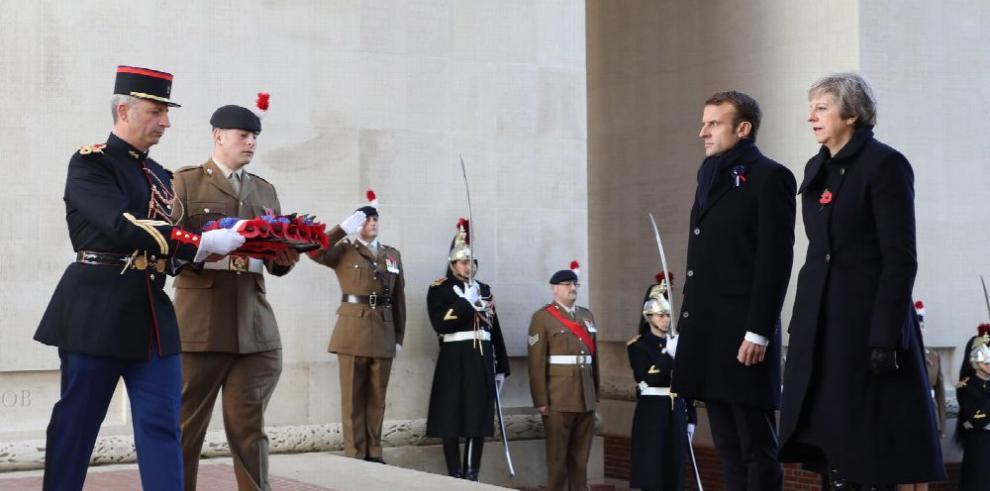 Francia y el mundo recuerdan 100 años del fin de la 'Gran Guerra'