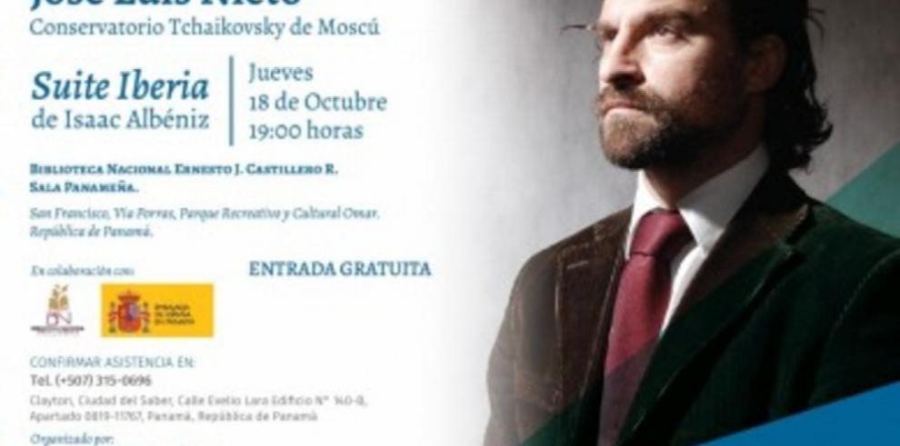 Concierto de Piano con José Luis Nieto