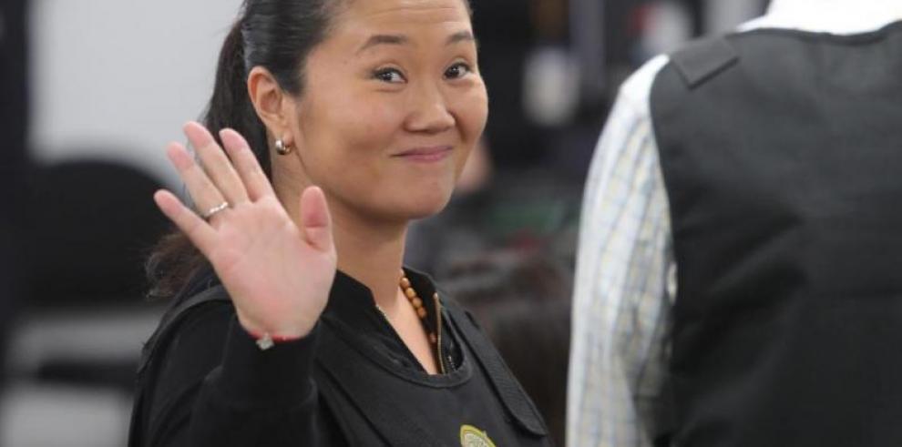 Keiko Fujimori queda en libertad