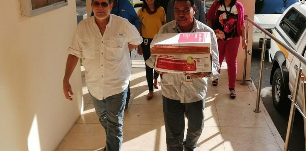 TE entrega a la Fiscalía Electoral4 mil 500 denuncias