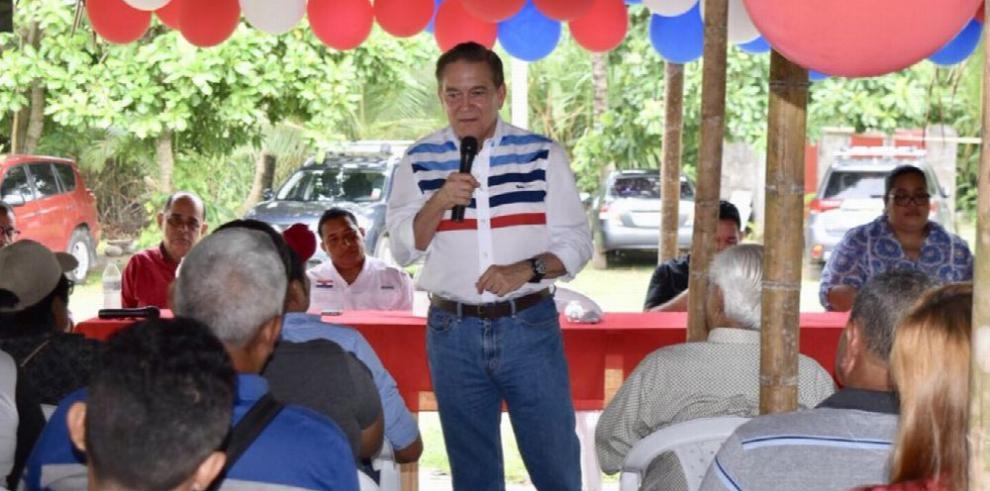 Cortizo sigue con sus reuniones en todo el país
