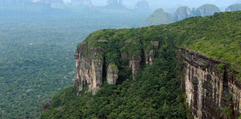 Parque de la Serranía de Chiribiquete de Colombia, Patrimonio de la Humanidad
