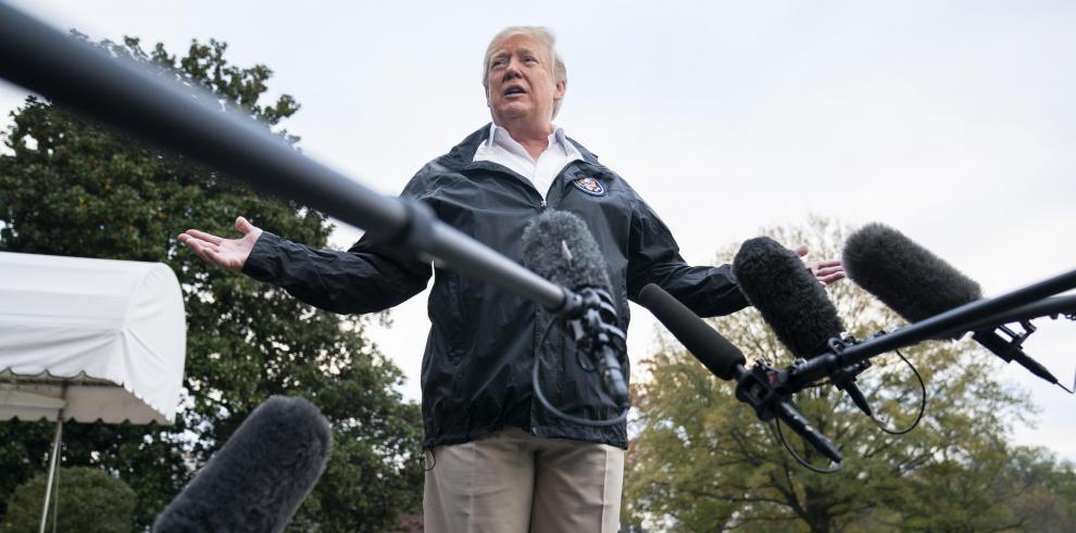 Trump no descarta cierre de Administración si no se aprueban fondos para muro