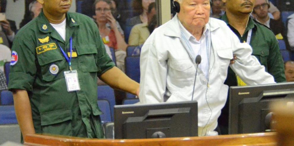 Ex Jemer Rojos recibe condena por genocidio