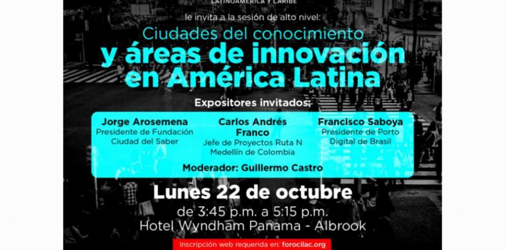 Ciudades del conocimiento y áreas de innovación en América Latina