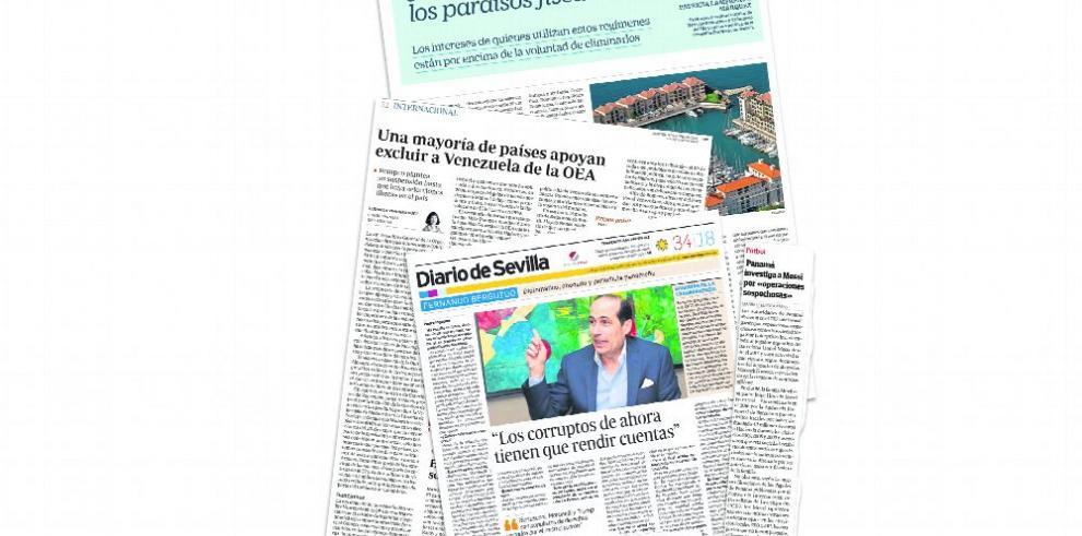 El fútbol y Martinelli resuenan en la prensa