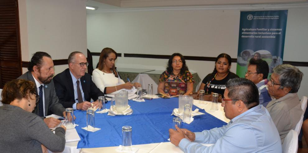 Panamá, FAO y líderes indígenas se unen para erradicar el hambre