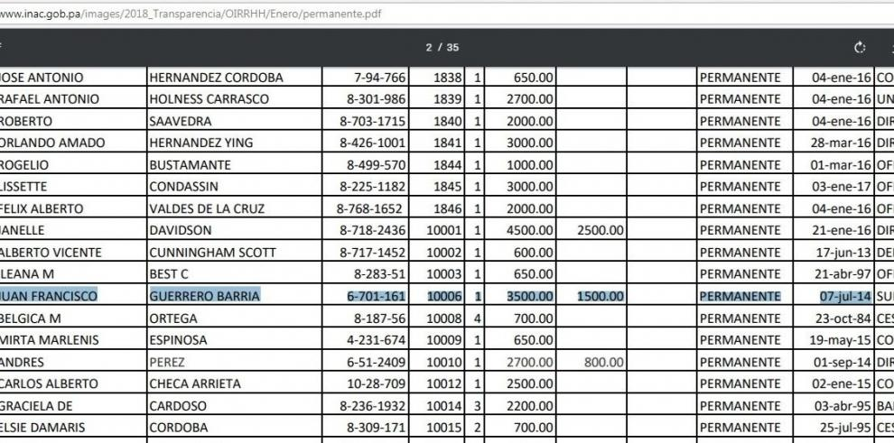 El subdirector del INAC debe pagar $19 mil porservicio de roaming