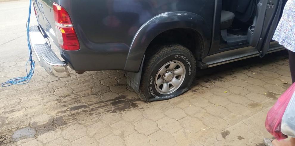 Atacan vehículo donde viajaba obispo nicaragüense Abelardo Mata