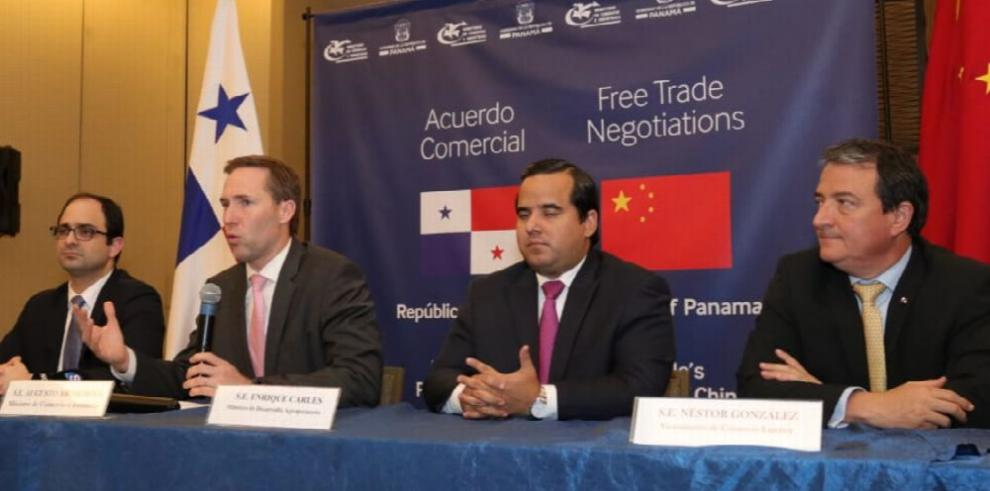 Panamá y China culminan primera ronda de negociación de TLC
