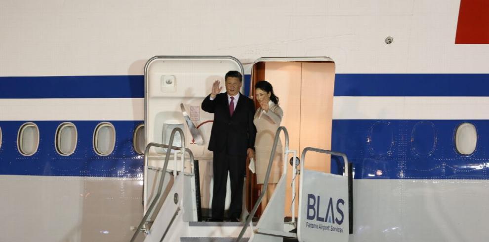 Histórica visita del presidente de China, Xi Jinping, a Panamá