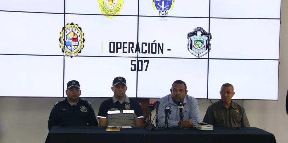Desmantelan red de sicariato y drogas en Panamá y detienen a 21 personas