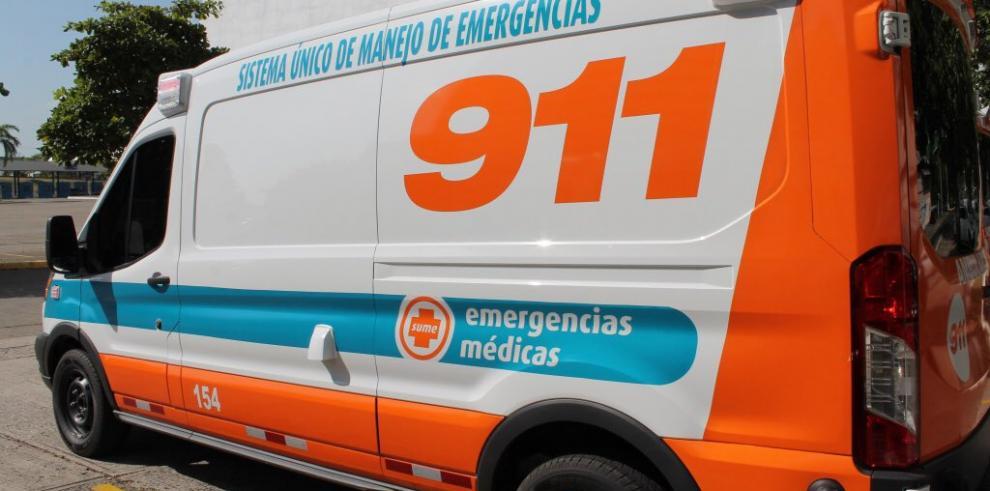 Seis heridos por colisión entre Sedán y articulado