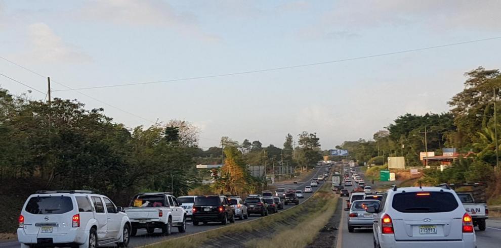 Se han movilizado 65,807 autos hacia el interior