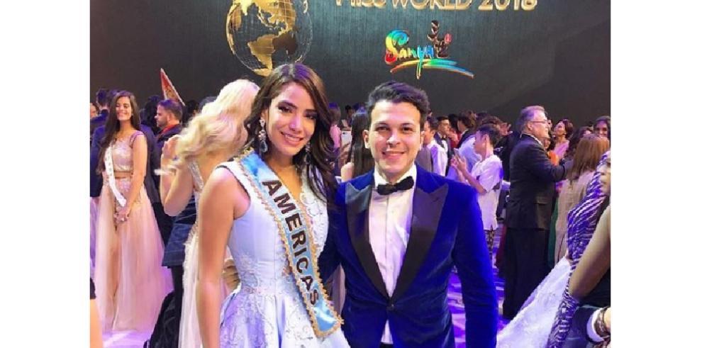 Solaris Barba logra destacar como Reina de América en el Miss Mundo