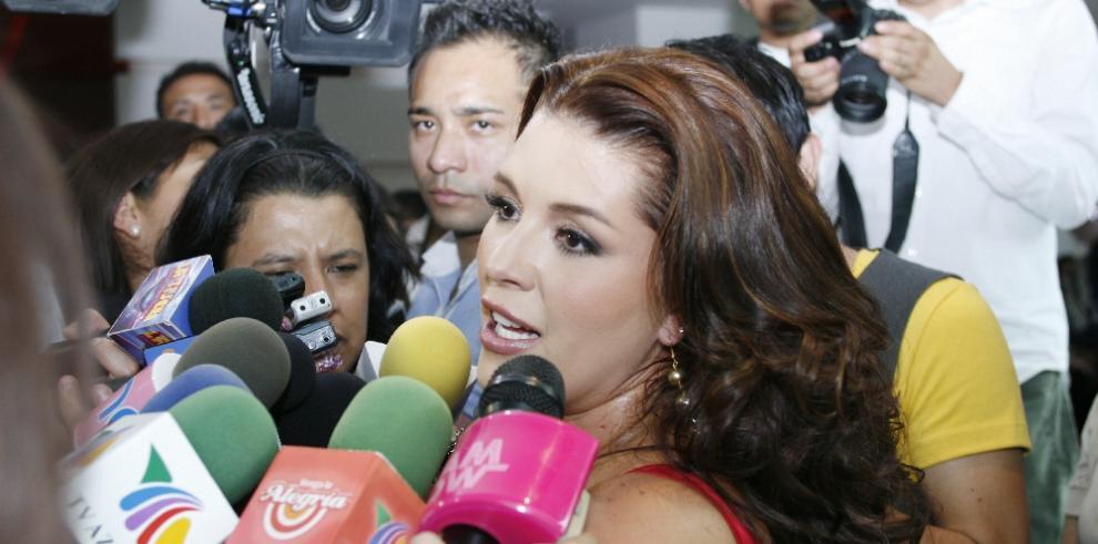 Alicia Machado se dice víctima de Trump