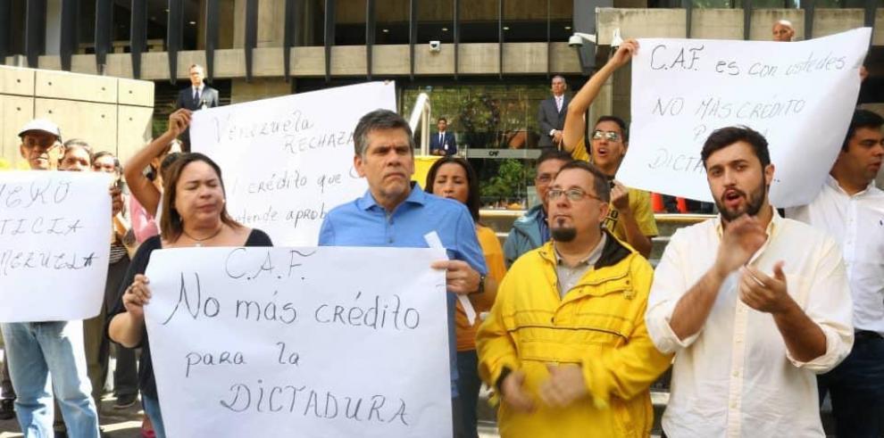 Partido de Capriles pide a CAF no otorgar préstamo a Ejecutivo venezolano