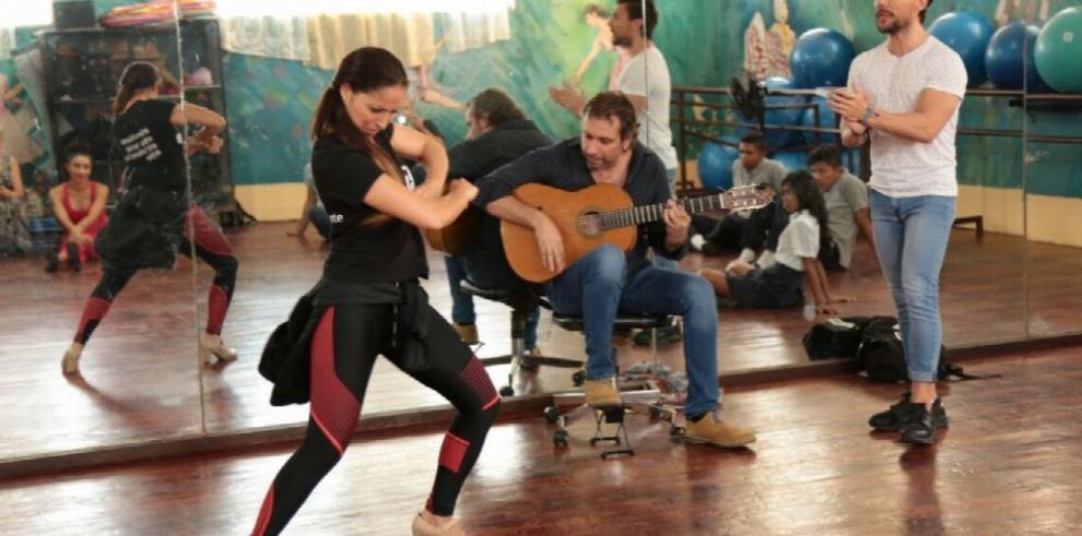 Cita con la moda y el baile flamenco