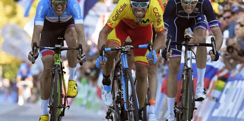 Valverde, el campeón del mundo en ciclismo
