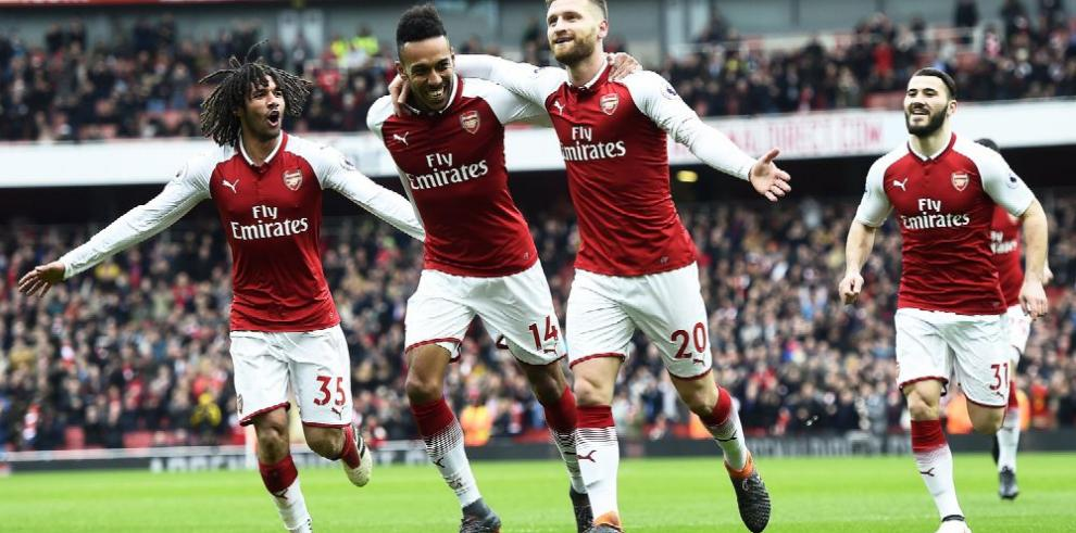 El Arsenal rescata moral a costa del Watford