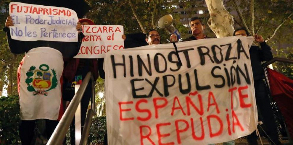 Prisión en España para ex juez peruano fugado mientras se decide extradición