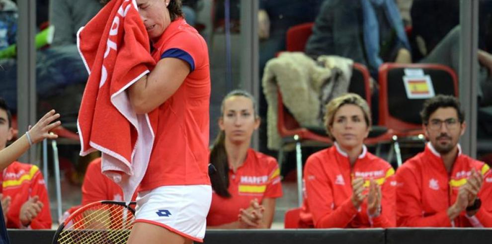 Carla Suárez no puede con Johanna Konta, la rumana Cirstea será rival Garbiñe