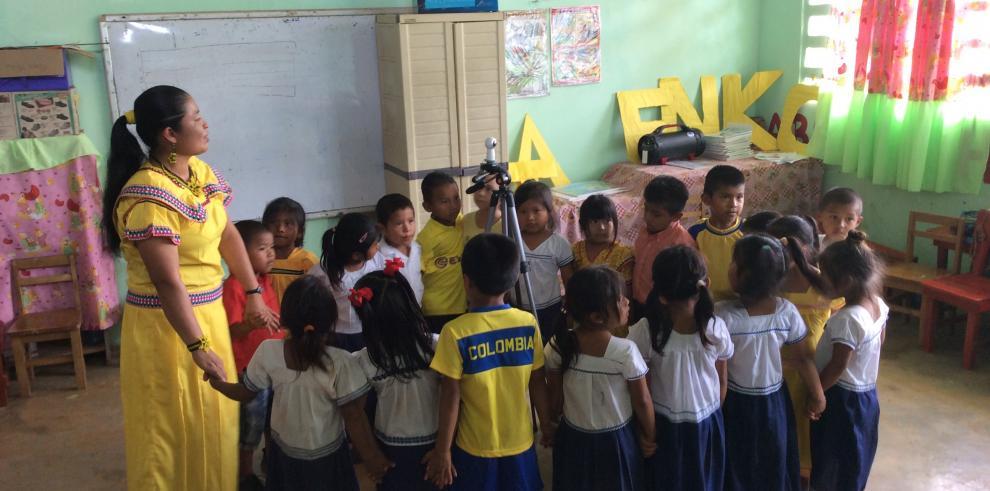 Inicia el programa preescolar de matemáticas divertidas en ngäbere y español