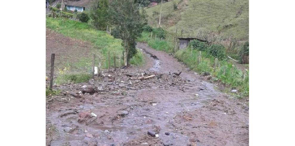 El MOP evalúa daños en Cerro Punta