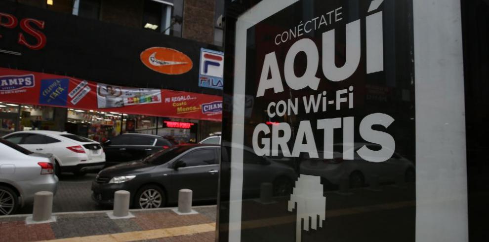 Una ciudad con acceso gratuito a internet