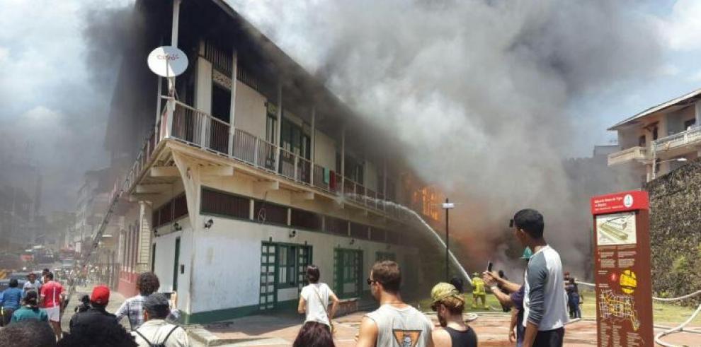 Se registro incendio en la casa 'La Boyacá'
