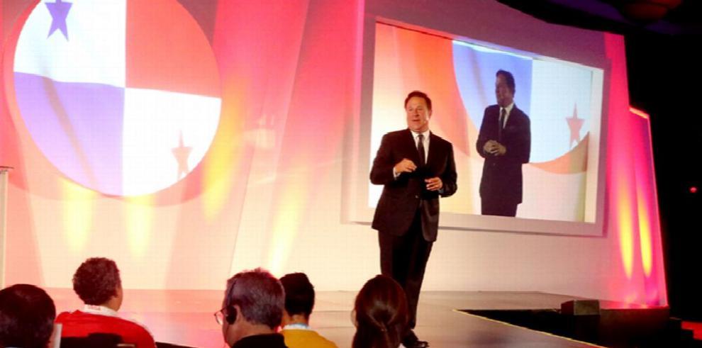 Varela expone oportunidades de negocios en el país
