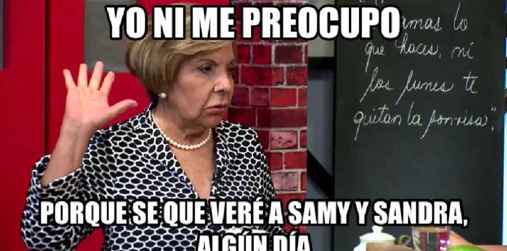 'Memes' de la presentación deSamy y Sandra Sandoval en Viña del Mar
