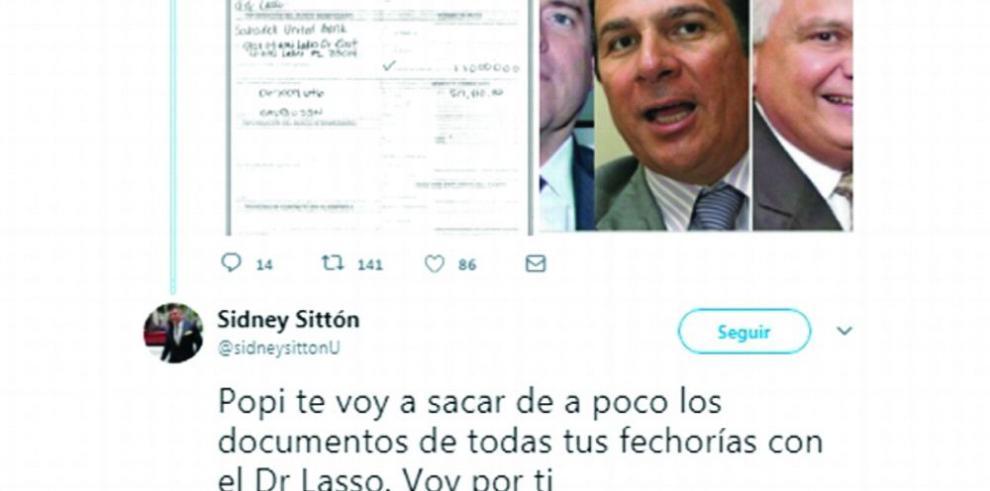 Guerra en Twitter entre Sittón y 'Popi' Varela