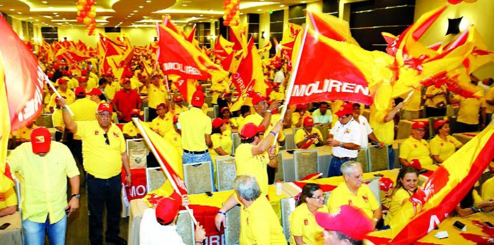 Directivos del Molirena confirman acercamiento con Ernesto P. Balladares
