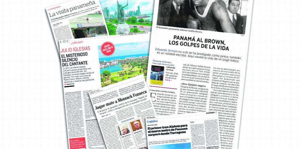 Vida de 'Panamá Al Brown' destaca en la prensa europea