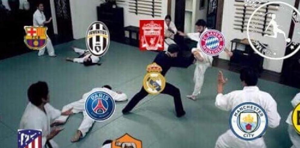 Memes del partido Real Madrid y el Bayer de Münich