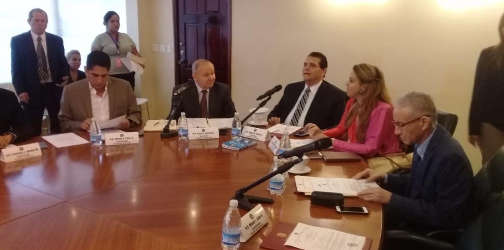 Credenciales creasubcomisión para analizar denuncia contra Harry Díaz
