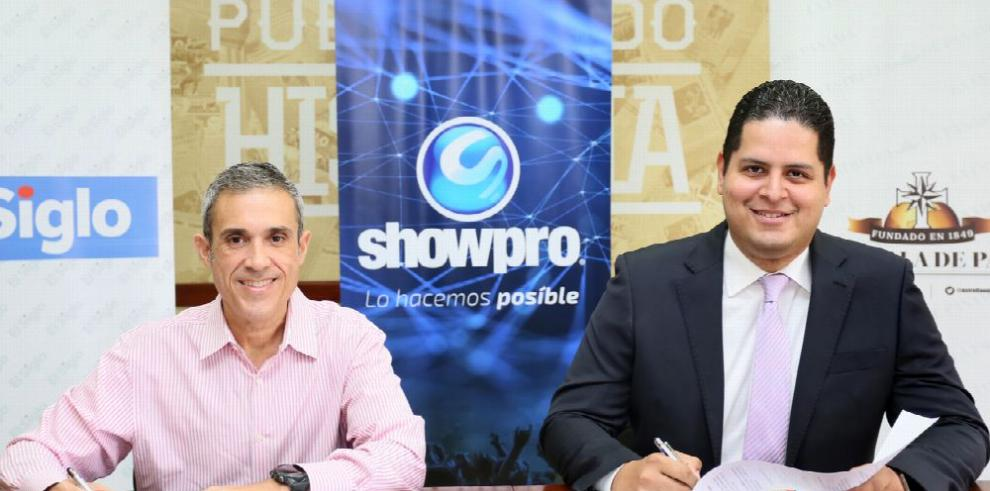GESE y Show Pro firman acuerdo