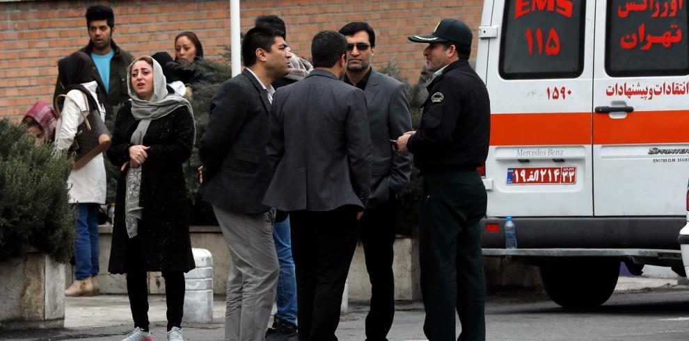 Se estrella un avión en Irán con 66 personas a bordo dadas por muertas